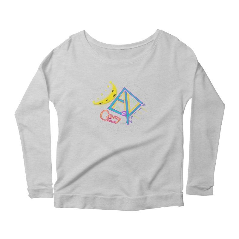 Egyptian Dave Galaxy Tour Women's Scoop Neck Longsleeve T-Shirt by Rorockll's Artist Shop