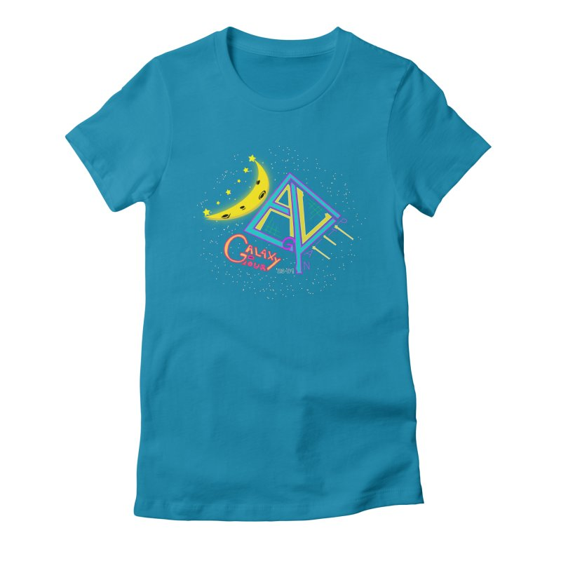 Egyptian Dave Galaxy Tour Women's Fitted T-Shirt by Rorockll's Artist Shop