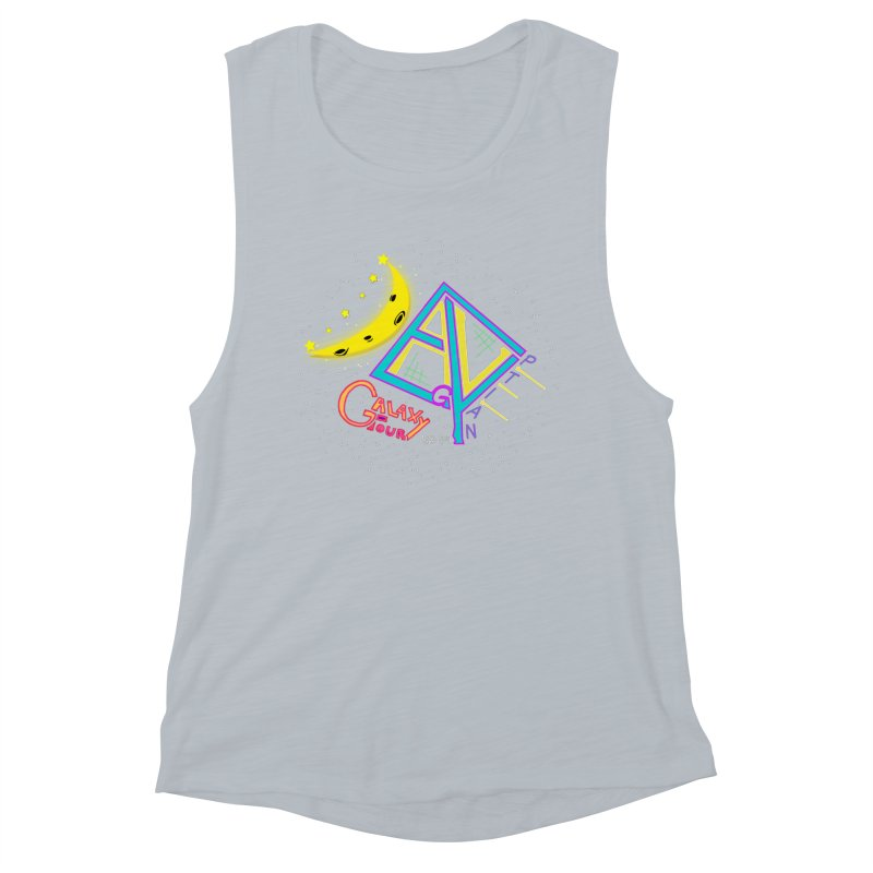 Egyptian Dave Galaxy Tour Women's Muscle Tank by Rorockll's Artist Shop