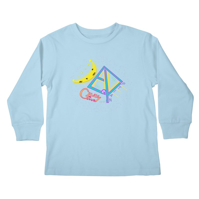 Egyptian Dave Galaxy Tour Kids Longsleeve T-Shirt by Rorockll's Artist Shop