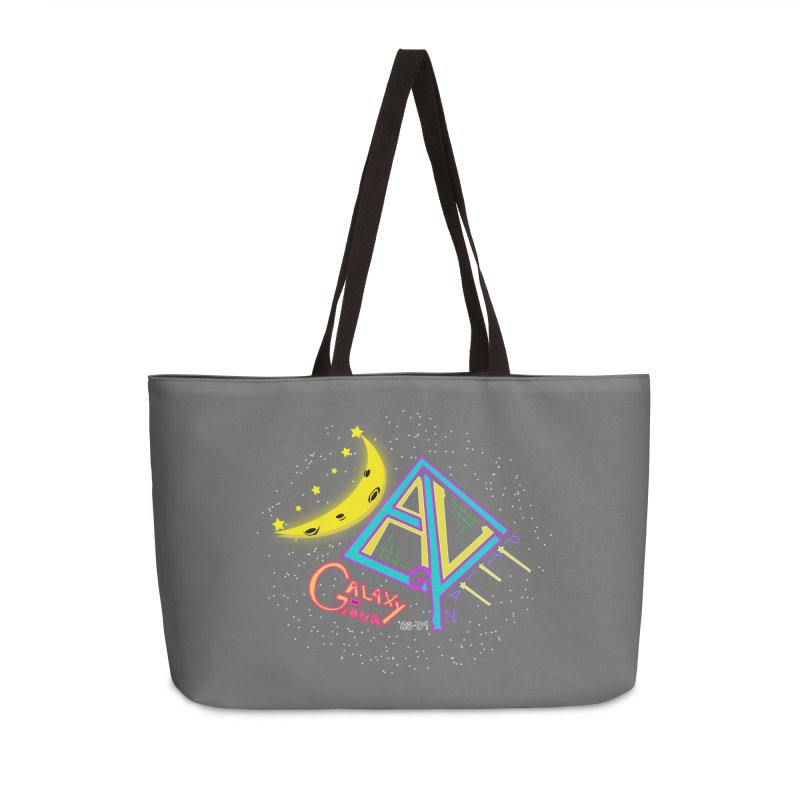 Egyptian Dave Galaxy Tour Accessories Weekender Bag Bag by Rorockll's Artist Shop