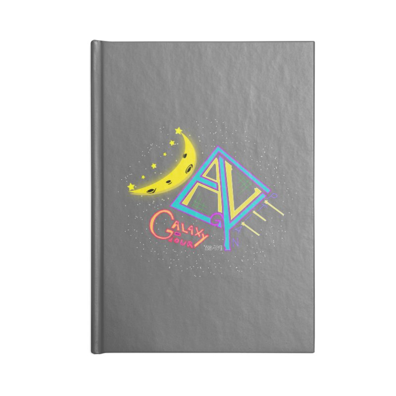 Egyptian Dave Galaxy Tour Accessories Blank Journal Notebook by Rorockll's Artist Shop