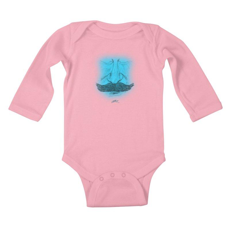 The Architect Kids Baby Longsleeve Bodysuit by Rorockll's Artist Shop