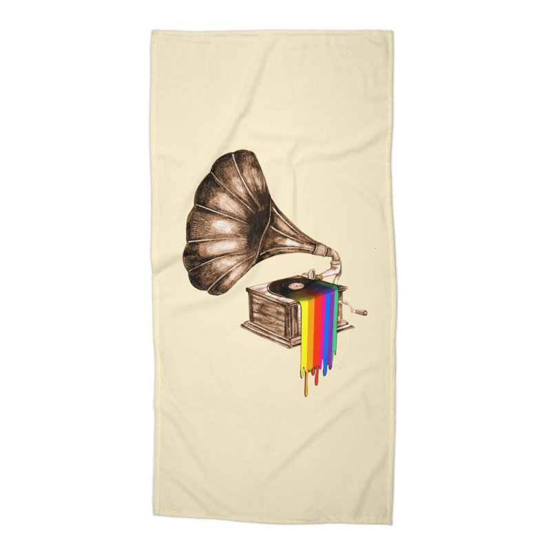 Don't be late Accessories Beach Towel by AlmostGone