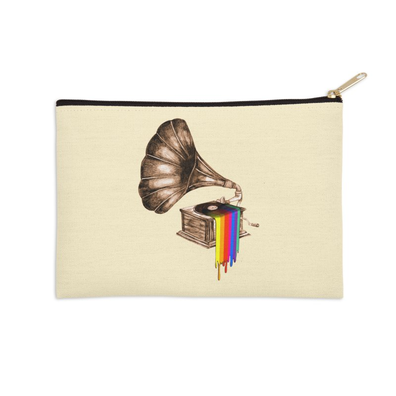 Don't be late Accessories Zip Pouch by AlmostGone