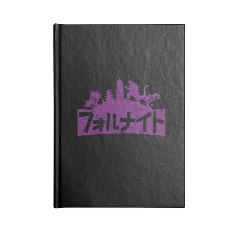 Japan Fortnite  [Rx] Accessories Lined Journal Notebook by Roufxis Store