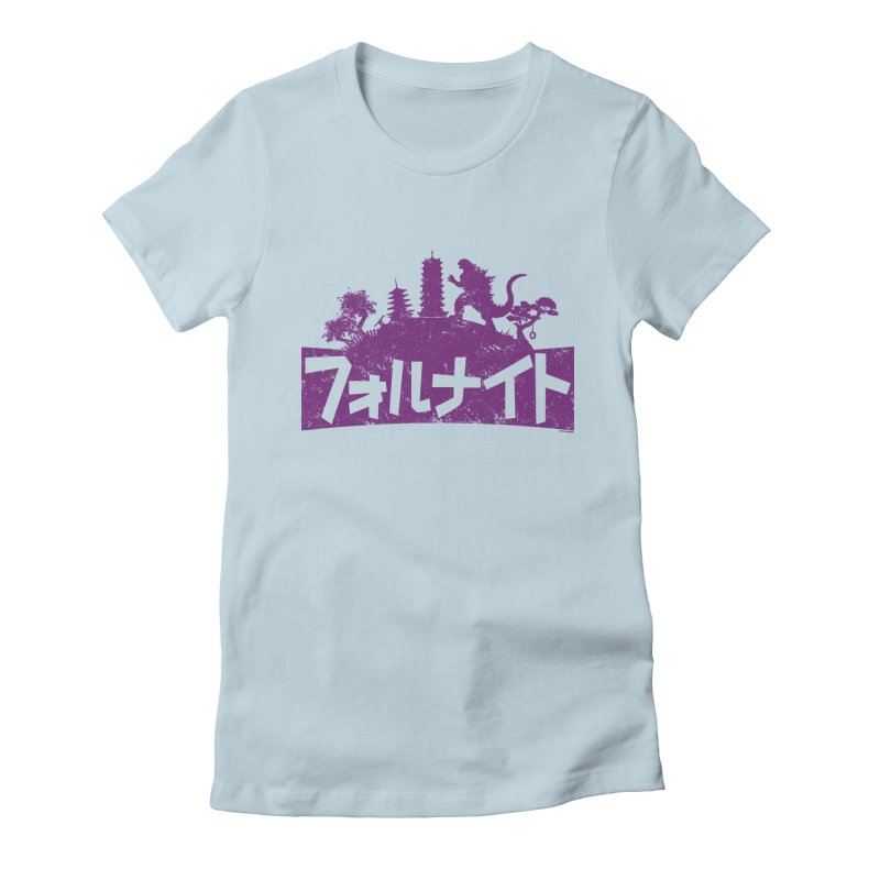 Japan Fortnite  [Rx] Women's Fitted T-Shirt by Roufxis Store