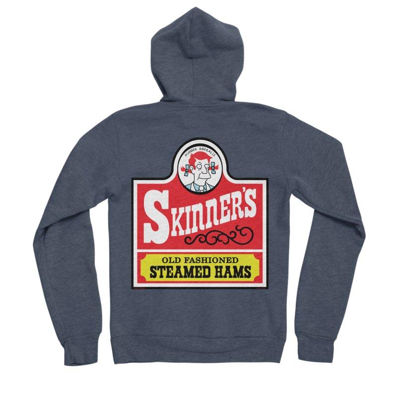Skinners Old Fashioned Steamed Hams [Rx-TL] Men's Sponge Fleece Zip-Up Hoody by Roufxis Store