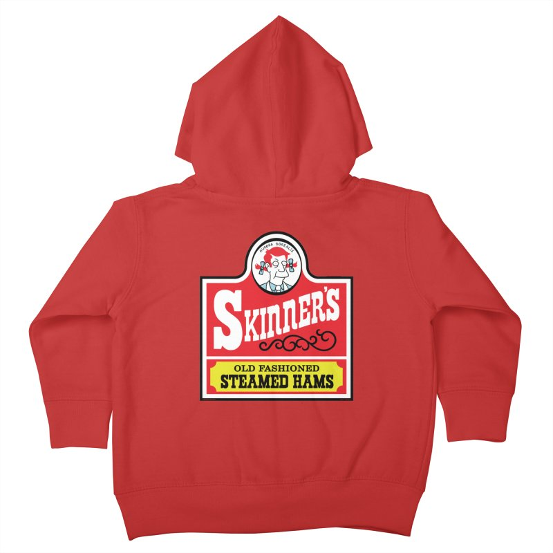 Skinners Old Fashioned Steamed Hams [Rx-TL] Kids Toddler Zip-Up Hoody by Roufxis Store