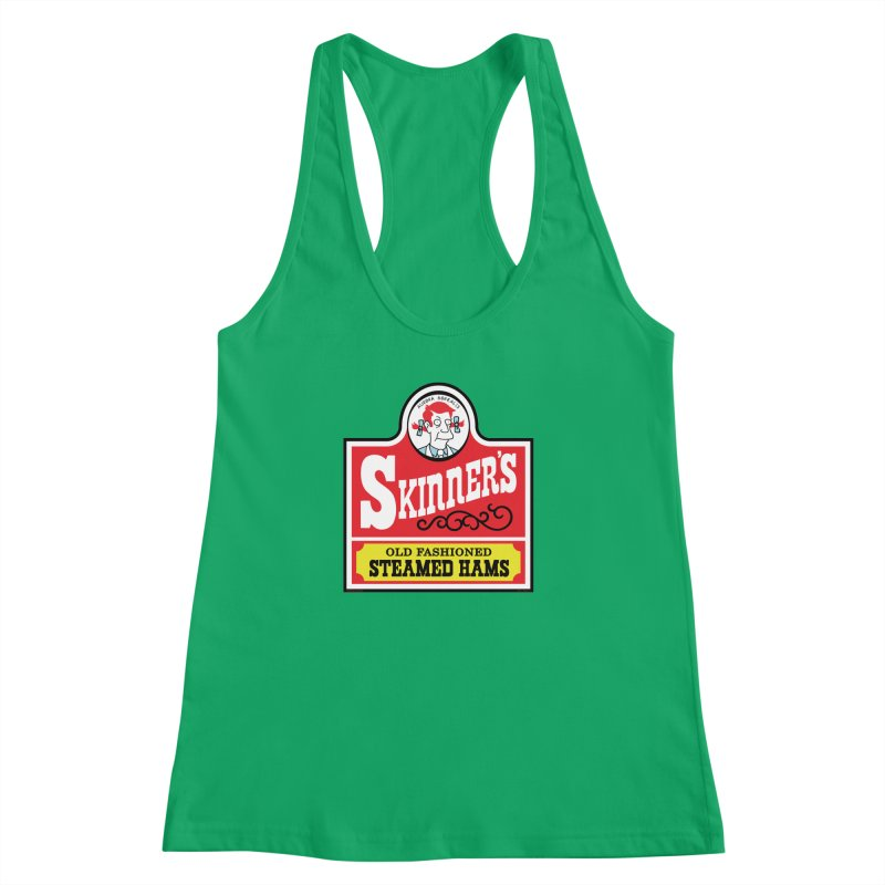 Skinners Old Fashioned Steamed Hams [Rx-TL] Women's Racerback Tank by Roufxis Store