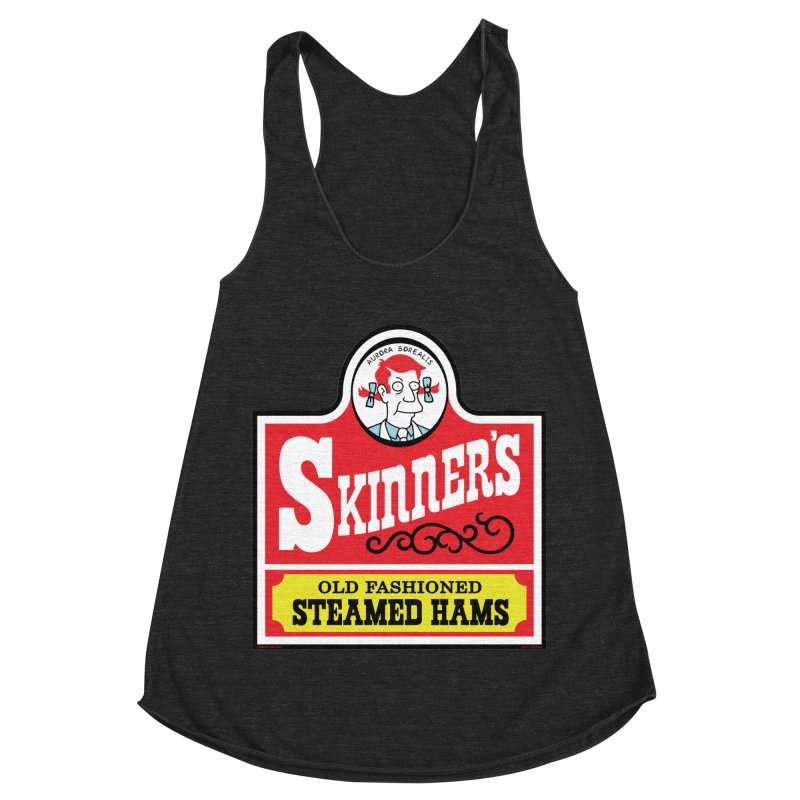 Skinners Old Fashioned Steamed Hams [Rx-TL] Women's Racerback Triblend Tank by Roufxis Store