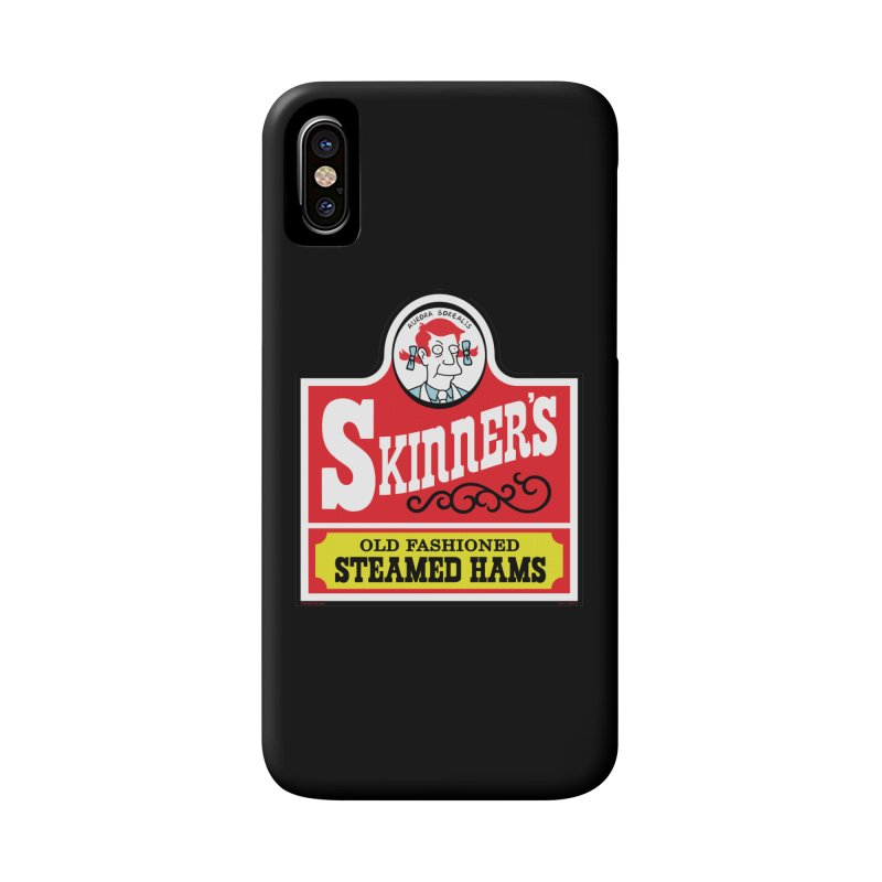 Skinners Old Fashioned Steamed Hams [Rx-TL] Accessories Phone Case by Roufxis Store