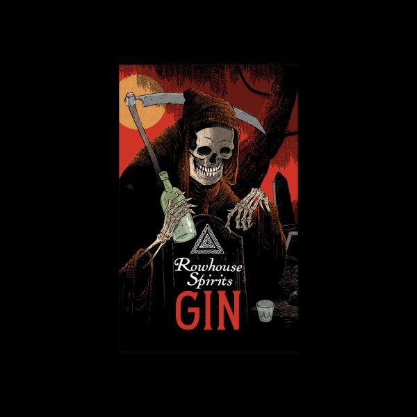 Design for Rowhouse Gin