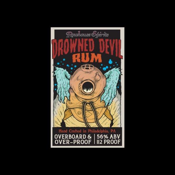 Design for Drowned Devil Rum