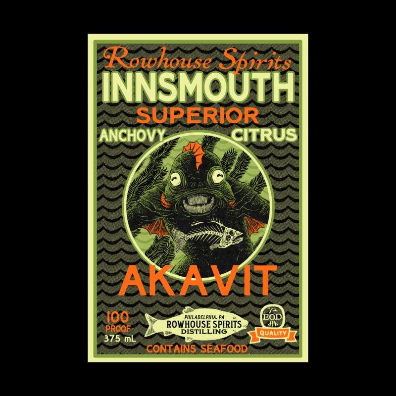 Innsmouth Superior Akavit Men's T-Shirt by Rowhouse Spirits