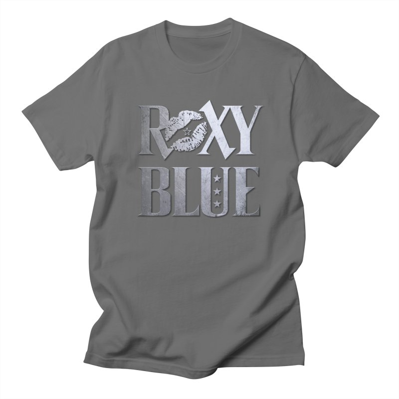 T-Shirts, accessories & Home Goods Men's T-Shirt by Roxy Blue (The Rock 'N' Roll Band)