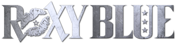 Roxy Blue (The Rock 'N' Roll Band) Logo