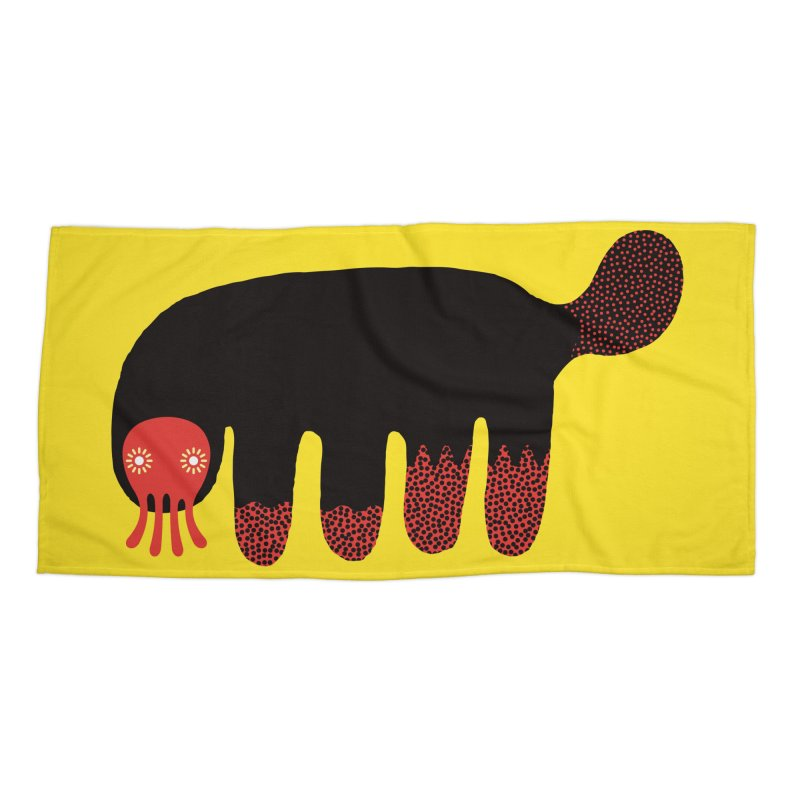 Monster of the day (June 15) [Year 1] in Beach Towel by Daily Monster Shop by Royal Glamsters
