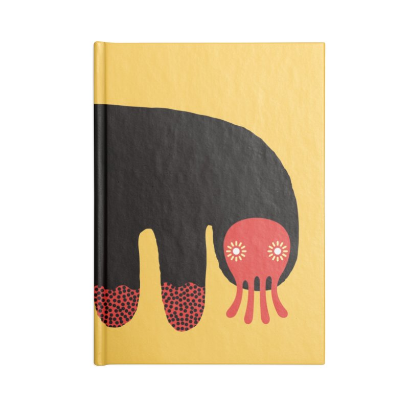 Monster of the day (June 15) [Year 1] Accessories Lined Journal Notebook by Daily Monster Shop by Royal Glamsters