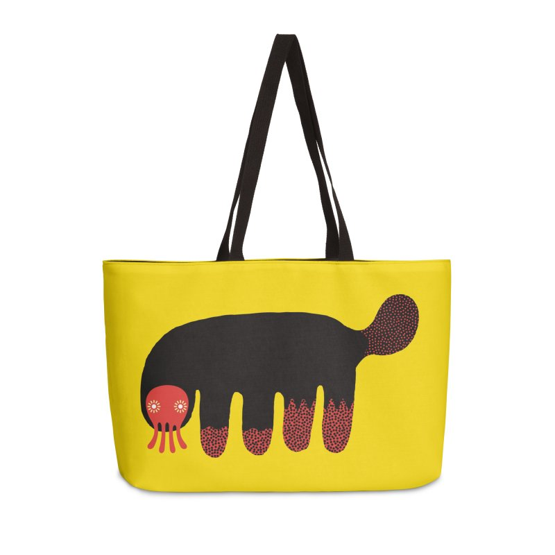 Monster of the day (June 15) [Year 1] Accessories Weekender Bag Bag by Daily Monster Shop by Royal Glamsters