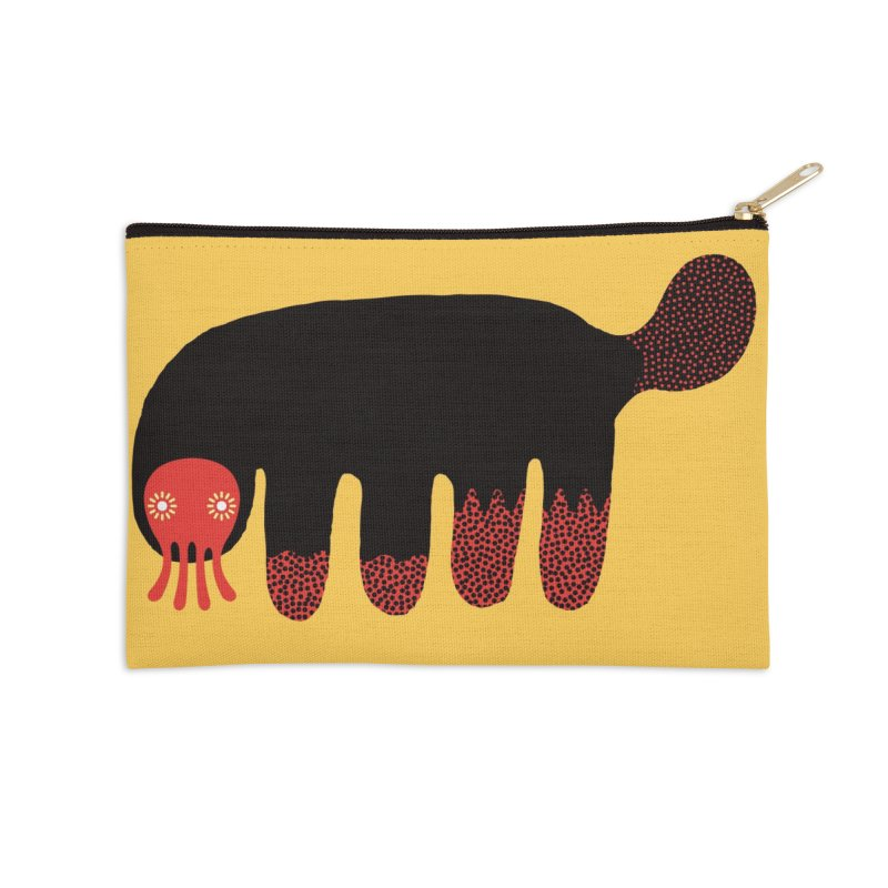 Monster of the day (June 15) [Year 1] Accessories Zip Pouch by Daily Monster Shop by Royal Glamsters