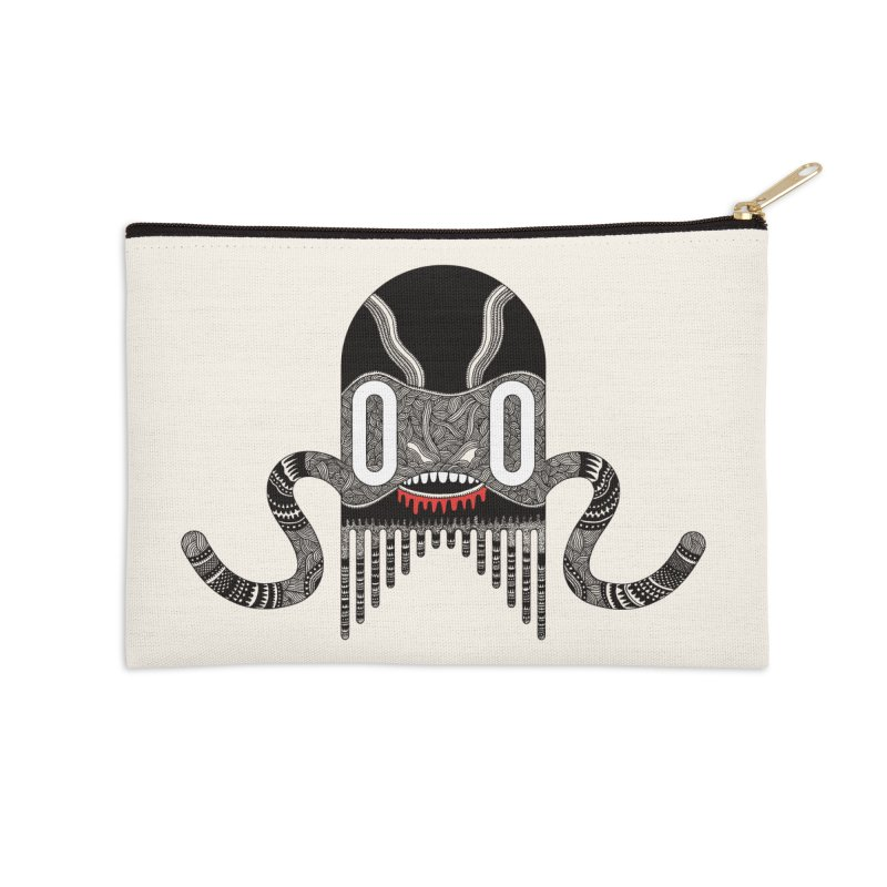 Monster of the day (April 8) [Year 1] Accessories Zip Pouch by Daily Monster Shop by Royal Glamsters