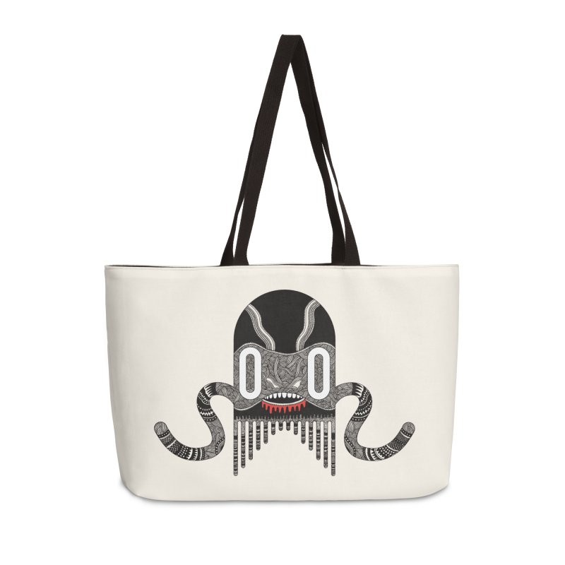 Monster of the day (April 8) [Year 1] in Weekender Bag by Daily Monster Shop by Royal Glamsters