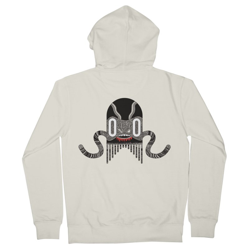 Monster of the day (April 8) [Year 1] Men's French Terry Zip-Up Hoody by Daily Monster Shop by Royal Glamsters