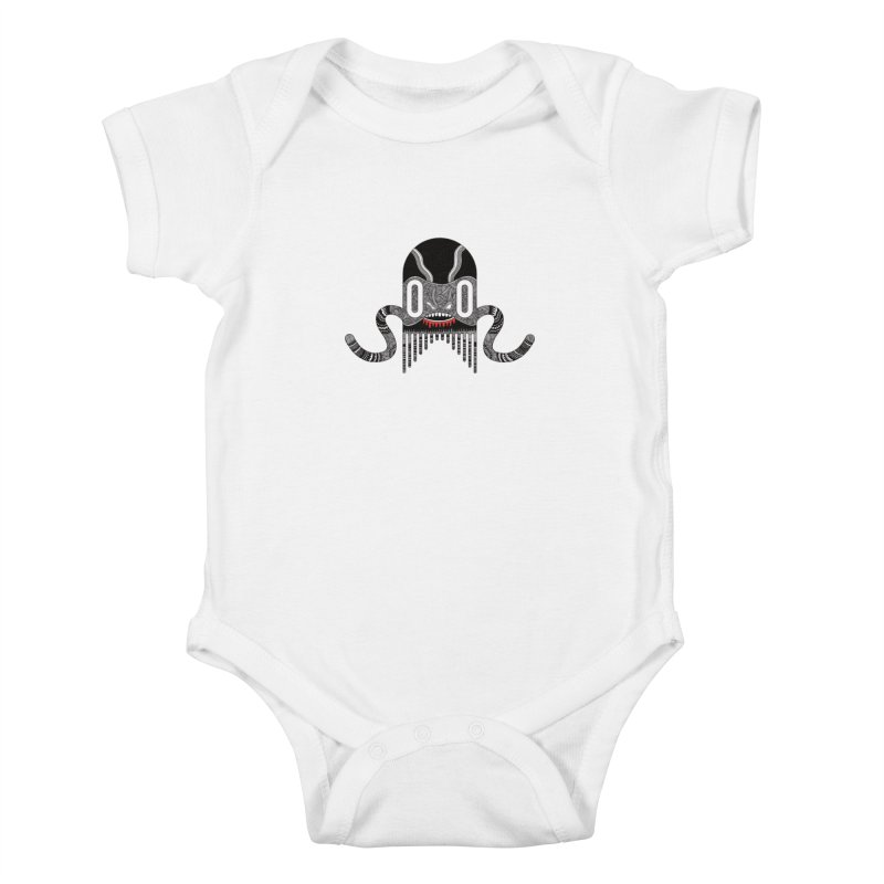 Monster of the day (April 8) [Year 1] Kids Baby Bodysuit by Daily Monster Shop by Royal Glamsters