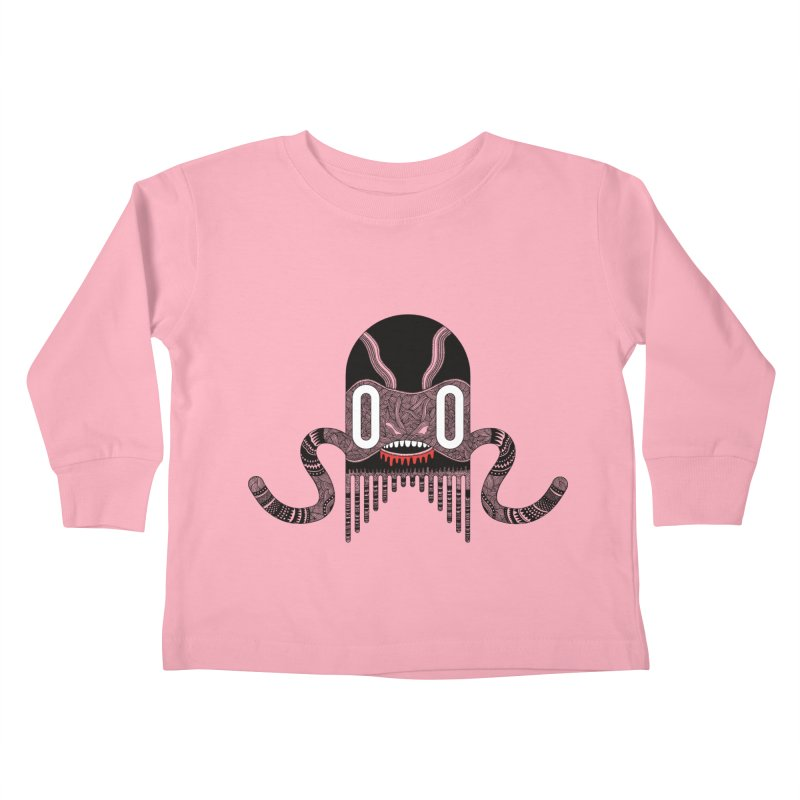 Monster of the day (April 8) [Year 1] Kids Toddler Longsleeve T-Shirt by Daily Monster Shop by Royal Glamsters