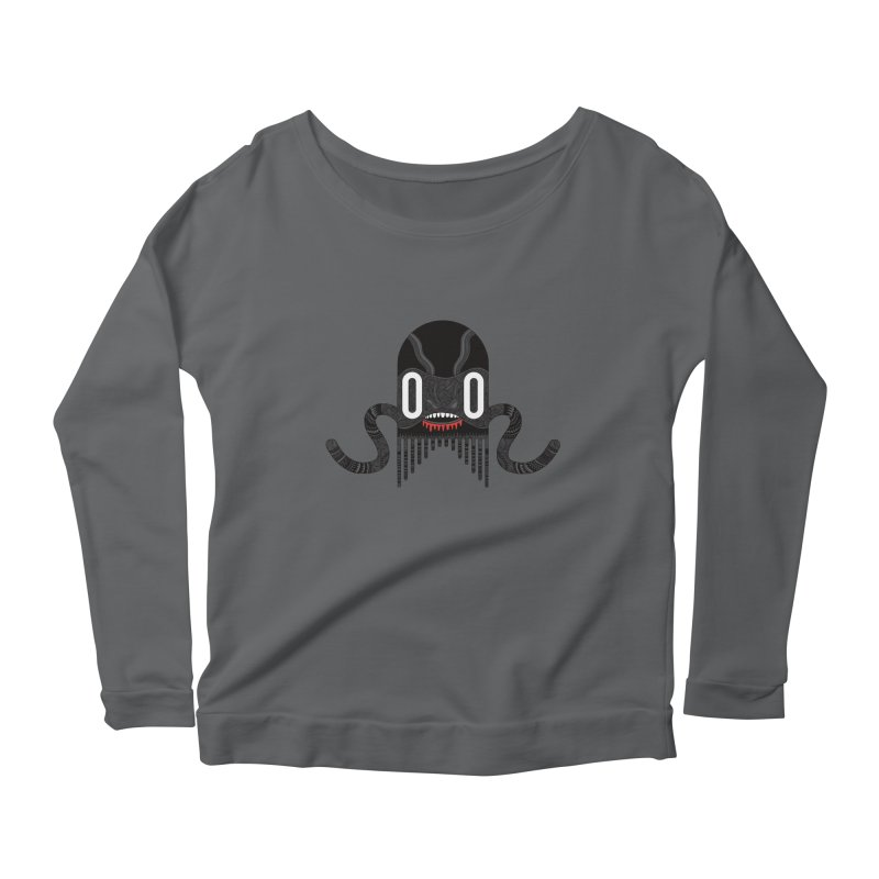 Monster of the day (April 8) [Year 1] Women's Longsleeve T-Shirt by Daily Monster Shop by Royal Glamsters