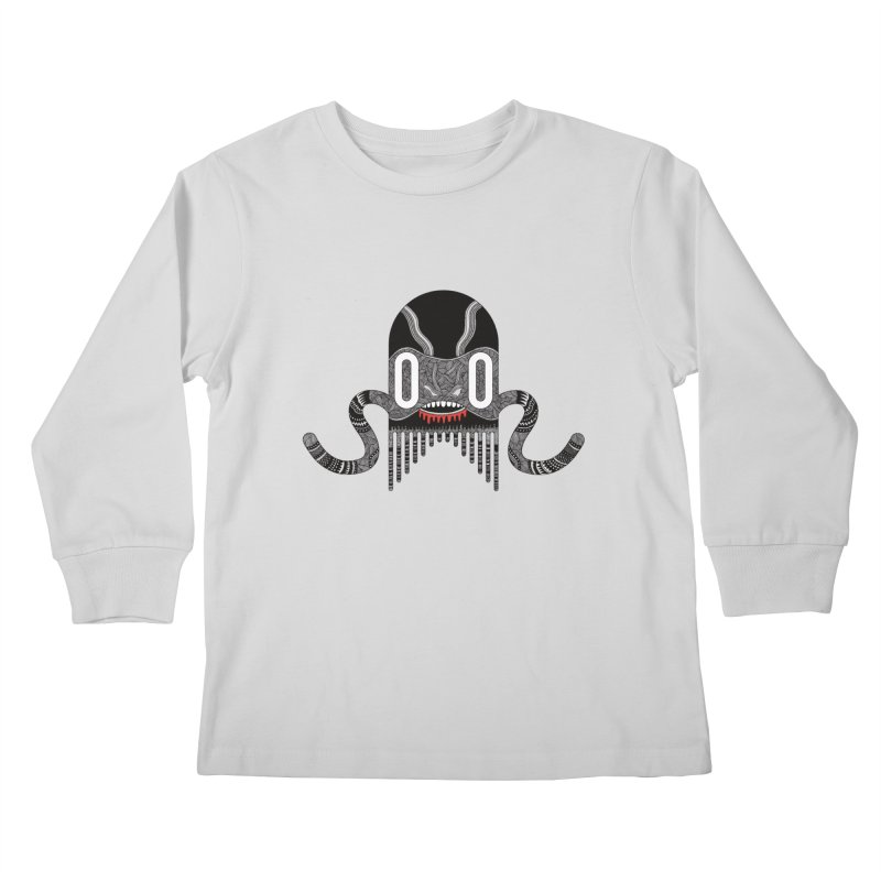 Monster of the day (April 8) [Year 1] Kids Longsleeve T-Shirt by Daily Monster Shop by Royal Glamsters