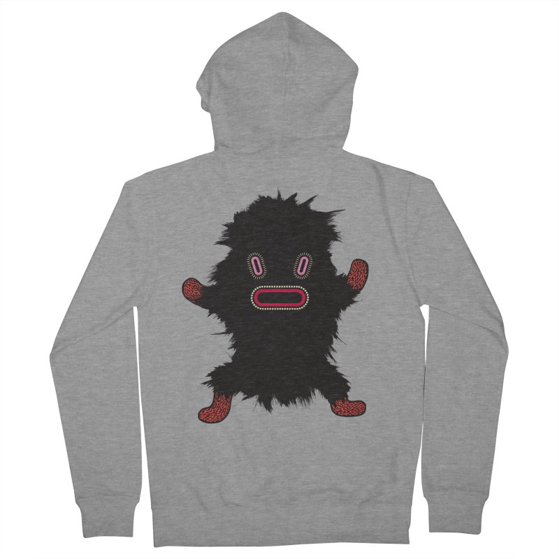 Monster of the day (October 9) [Year 1] Women's French Terry Zip-Up Hoody by Daily Monster Shop by Royal Glamsters