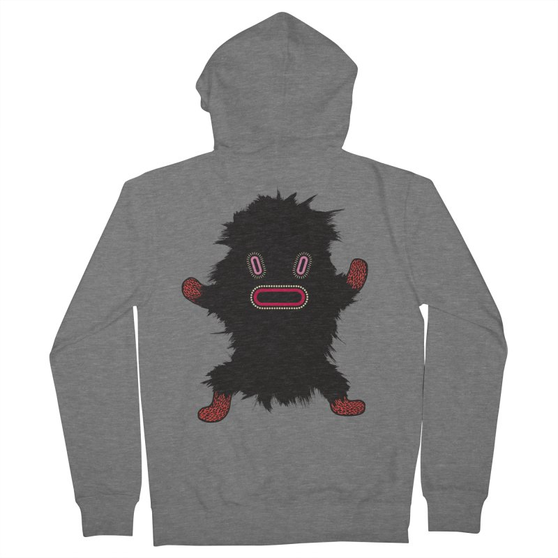 Monster of the day (October 9) [Year 1] Men's French Terry Zip-Up Hoody by Daily Monster Shop by Royal Glamsters