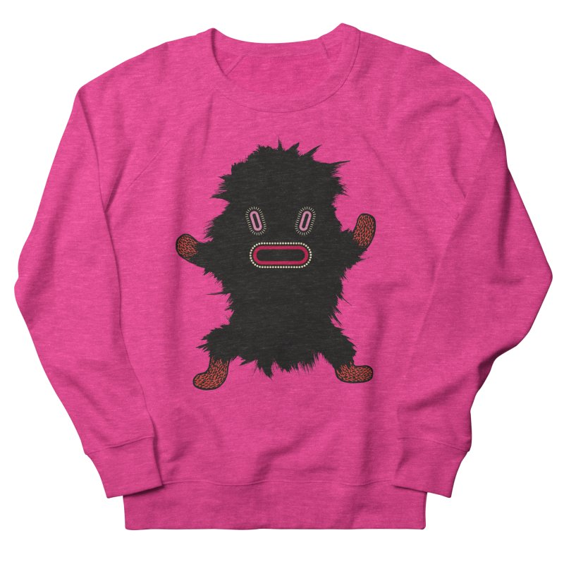 Monster of the day (October 9) [Year 1] Women's French Terry Sweatshirt by Daily Monster Shop by Royal Glamsters