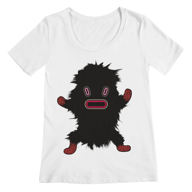 Monster of the day (October 9) [Year 1] Women's Regular Scoop Neck by Daily Monster Shop by Royal Glamsters