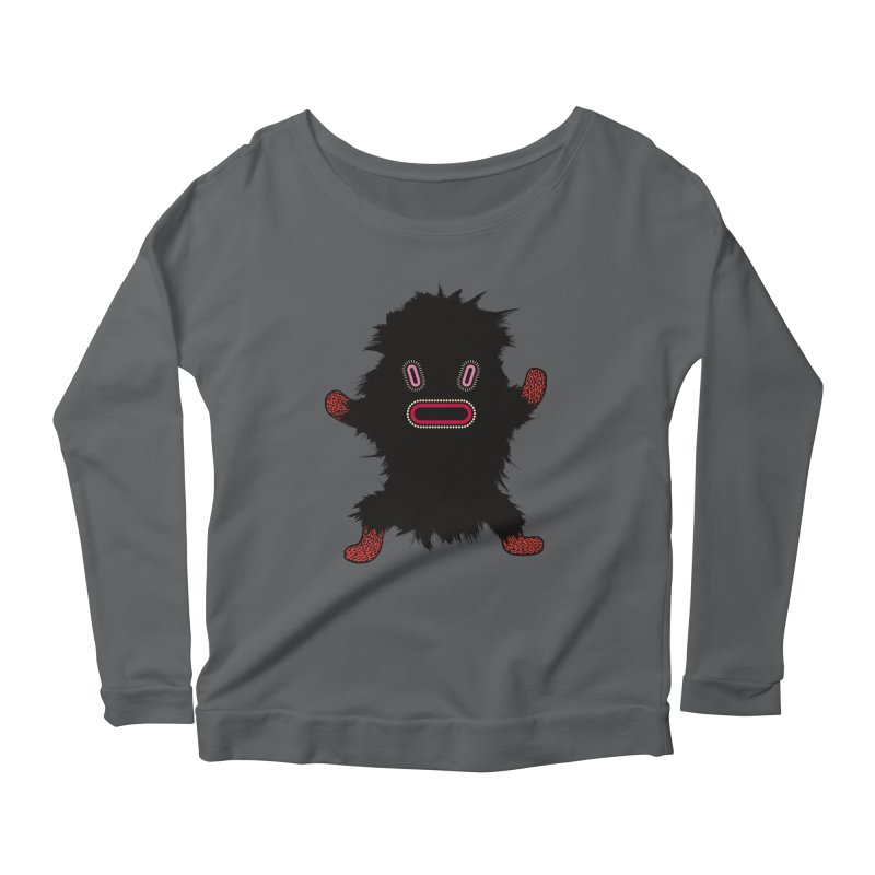 Monster of the day (October 9) [Year 1] Women's Longsleeve T-Shirt by Daily Monster Shop by Royal Glamsters