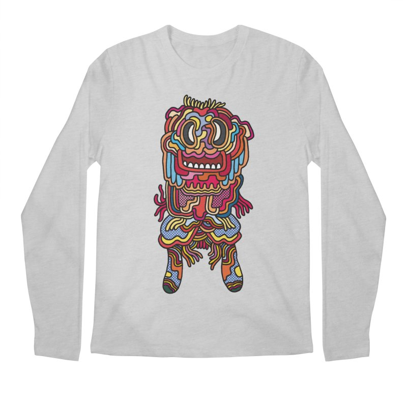 Olmeca Monster of the day (May 28) [Year 1] Men's Longsleeve T-Shirt by Daily Monster Shop by Royal Glamsters