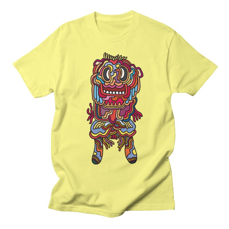 Olmeca Monster of the day (May 28) [Year 1] Men's Regular T-Shirt by Daily Monster Shop by Royal Glamsters