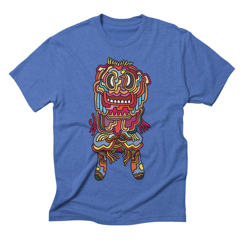 Olmeca Monster of the day (May 28) [Year 1] Men's T-Shirt by Daily Monster Shop by Royal Glamsters