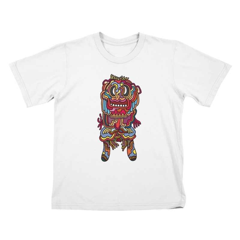 Olmeca Monster of the day (May 28) [Year 1] Kids T-Shirt by Daily Monster Shop by Royal Glamsters