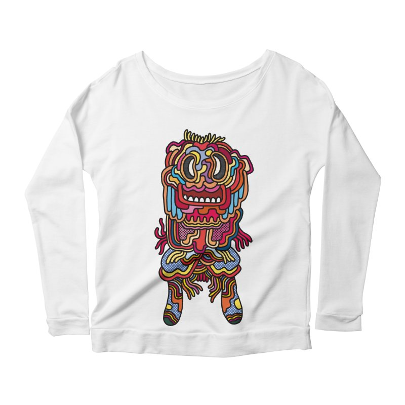 Olmeca Monster of the day (May 28) [Year 1] Women's Longsleeve T-Shirt by Daily Monster Shop by Royal Glamsters