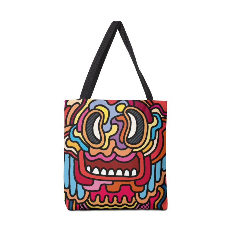 Olmeca Monster of the day (May 28) [Year 1] Accessories Tote Bag Bag by Daily Monster Shop by Royal Glamsters