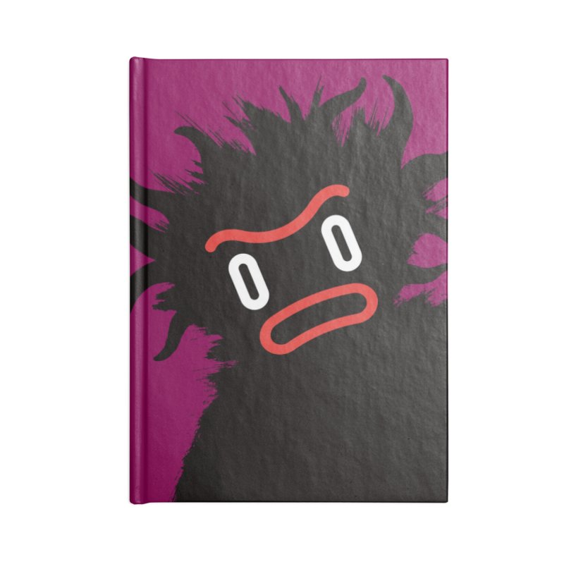 Monster of the day (February 15) [Year 1] Accessories Blank Journal Notebook by Daily Monster Shop by Royal Glamsters