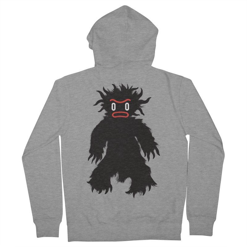 Monster of the day (February 15) [Year 1] Men's French Terry Zip-Up Hoody by Daily Monster Shop by Royal Glamsters