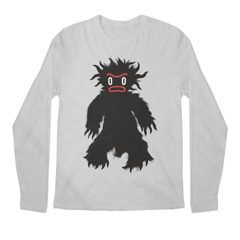 Monster of the day (February 15) [Year 1] Men's Regular Longsleeve T-Shirt by Daily Monster Shop by Royal Glamsters