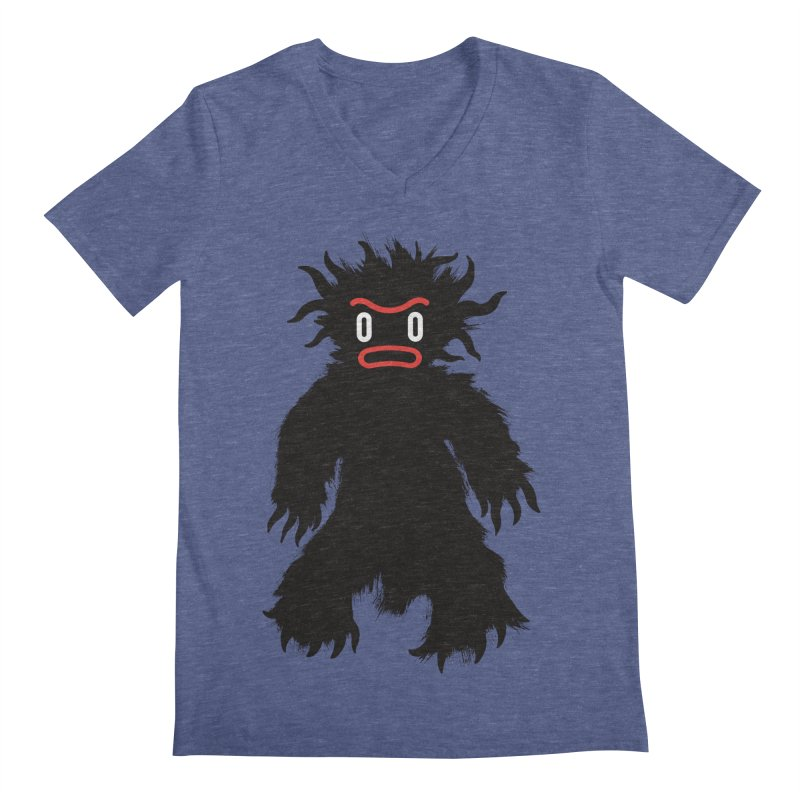 Monster of the day (February 15) [Year 1] Men's Regular V-Neck by Daily Monster Shop by Royal Glamsters