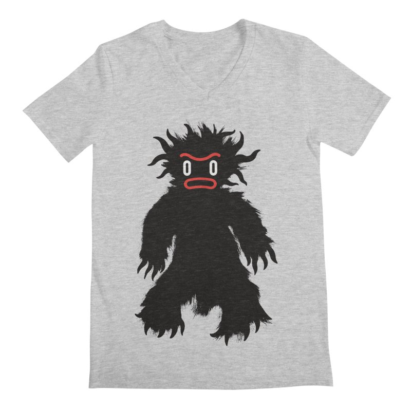 Monster of the day (February 15) [Year 1] Men's V-Neck by Daily Monster Shop by Royal Glamsters