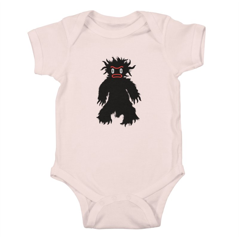 Monster of the day (February 15) [Year 1] Kids Baby Bodysuit by Daily Monster Shop by Royal Glamsters