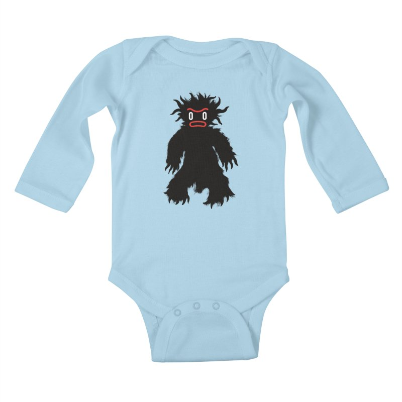 Monster of the day (February 15) [Year 1] Kids Baby Longsleeve Bodysuit by Daily Monster Shop by Royal Glamsters